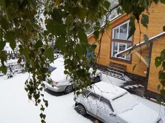 Гостевой дом «Снежинка» (шале)