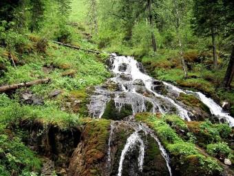 Конный поход к Емурлинскому водопаду. Трехдневный тур.